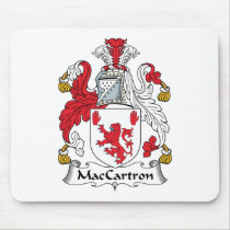 MacCartron Family Crest Mousepad