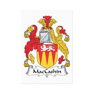 MacCashin Family Crest Canvas Print
