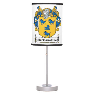 MacCausland Family Crest Table Lamp