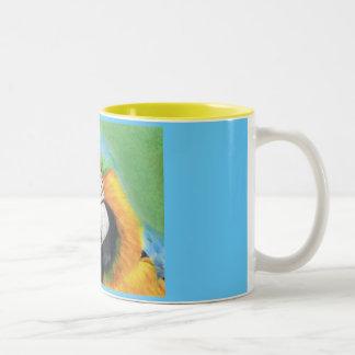 MacCheeky Two-Tone Coffee Mug