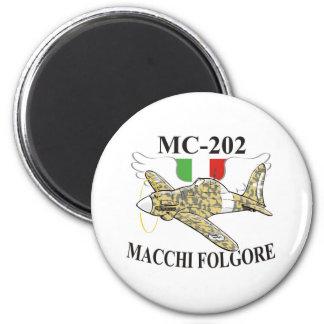 macchi mc-200 folgore 2 inch round magnet