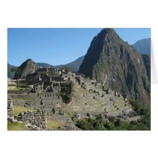 Macchu Picchu Card