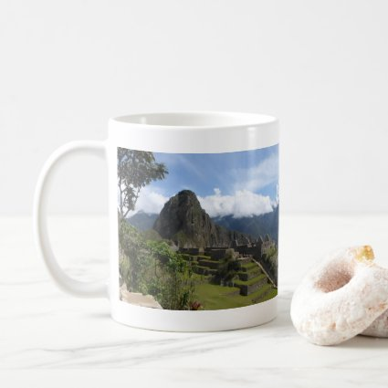 Macchu Picchu Panoramic Coffee Mug