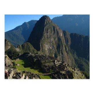 Macchu Picchu Postcard