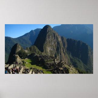 Macchu Picchu Poster