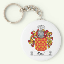 Macci Family Crest Keychain