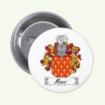 Macci Family Crest Button