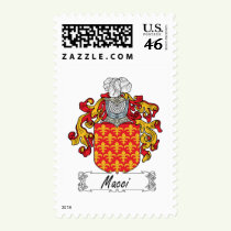 Macci Family Crest Stamps