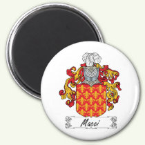 Macci Family Crest Magnet