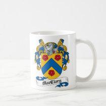MacClary Family Crest Mug