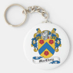MacClary Family Crest Key Chains