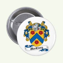 MacClary Family Crest Button