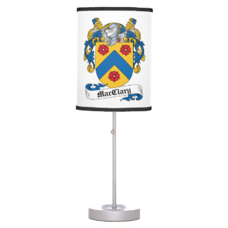 MacClary Family Crest Table Lamp
