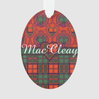 MacCleay clan Plaid Scottish kilt tartan Ornament