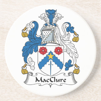 MacClure Family Crest Coaster