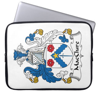 MacClure Family Crest Computer Sleeves