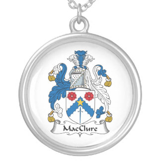 MacClure Family Crest Custom Necklace