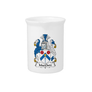 MacClure Family Crest Drink Pitcher