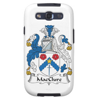 MacClure Family Crest Galaxy S3 Covers