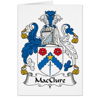 MacClure Family Crest Greeting Cards