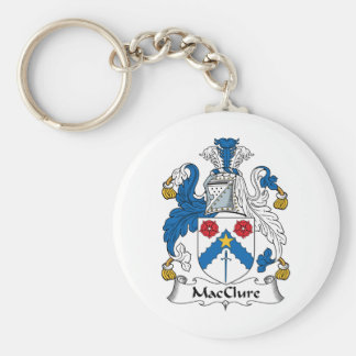 MacClure Family Crest Key Chains