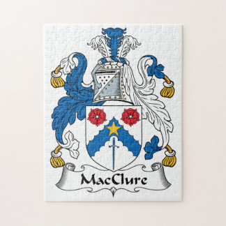 MacClure Family Crest Puzzles
