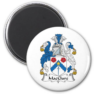 MacClure Family Crest Refrigerator Magnets