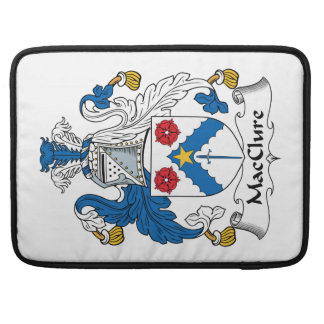 MacClure Family Crest Sleeves For MacBook Pro