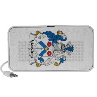 MacClure Family Crest Travelling Speakers