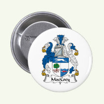MacCoey Family Crest Button