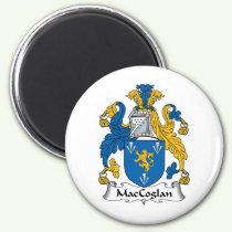 MacCoglan Family Crest Magnet