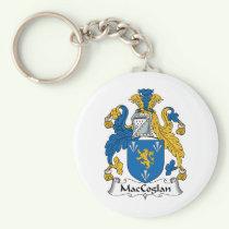 MacCoglan Family Crest Keychain