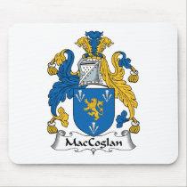 MacCoglan Family Crest Mousepad