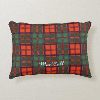 MacColl clan Plaid Scottish kilt tartan Accent Pillow