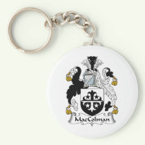 MacColman Family Crest Keychain