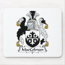 MacColman Family Crest Mousepad