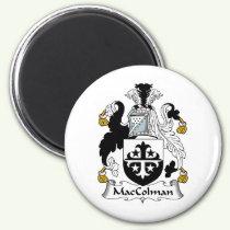 MacColman Family Crest Magnet