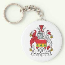 MacConchy Family Crest Keychain