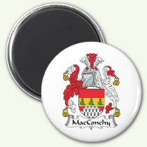 MacConchy Family Crest Magnet