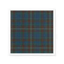 MacConnell Clan Tartan Plaid Paper Napkins