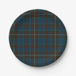 MacConnell Clan Tartan Plaid Paper Plate