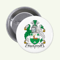 MacConnell Family Crest Button
