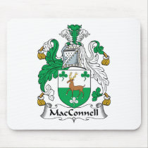 MacConnell Family Crest Mousepad