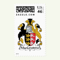 MacConsidine Family Crest Stamps