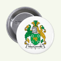 MacConville Family Crest Button