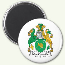 MacConville Family Crest Magnet