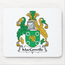 MacConville Family Crest Mousepad