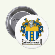 MacCormack Family Crest Button