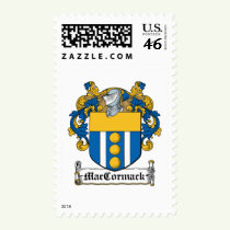 MacCormack Family Crest Stamps