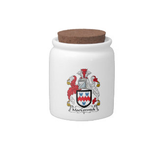 MacCormick Family Crest Candy Dish